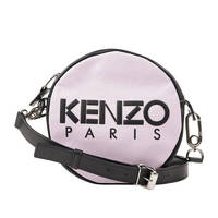KENZO 女士时尚单肩包 粉色