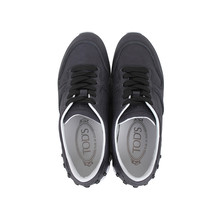 Tods/托德斯 女士深蓝色真皮系带休闲运动鞋 XXW0YO0P260ISY B999